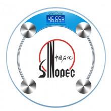 中国石化定制logo  电子人体秤  健康秤
