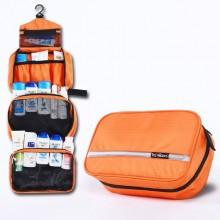 挂式防水旅行洗漱包 旅游折叠多功能轻便收纳包 可定制LOGO