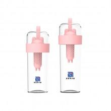 stylepie风格派夏季水杯 随手杯塑料情侣水杯 便携可爱创意泡茶杯