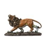 朱炳仁铜 王者雄狮 纯铜狮子摆件 家居装饰艺术工艺品正品礼品
