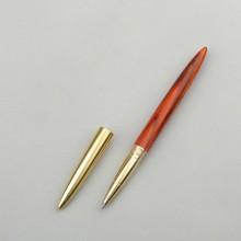 黄铜实木签字笔木制笔杆黑色水笔高档商务礼物个性定制
