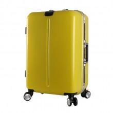 铝框深框拉杆箱充电行李箱女20寸登机箱密码旅行箱万向轮24寸商务