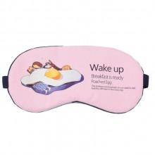 冰敷棉麻眼罩 冷热敷 睡眠卡通遮光护眼罩 可定制LOGO