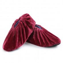 耐磨防滑超柔绒布生活鞋套无底 可定制LOGO
