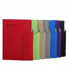 中国邮政定制 a5平装笔记本仿皮三折pu商务本子