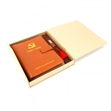 鞍钢集团笔记本套装定制款