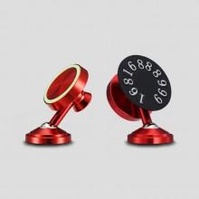金属夜光磁吸磁铁车载手机导航支架临时停车牌挪车牌号码牌
