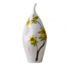 景德镇陶瓷工艺品创意摆件礼品花瓶 中式 三件套
