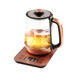 1.8L养生壶全自动加厚玻璃多功能电热烧水迷你花茶壶煮茶器养身