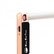 充电打火机 USB点烟器 防风打火机