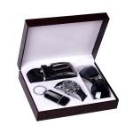 高档手表时尚墨镜皮带钥匙扣4件套套装