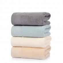 素色全棉加厚 纯棉毛巾 可定制LOGO