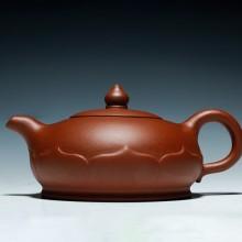 茶壶紫砂壶原矿清水泥莲座紫砂壶