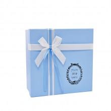 定制包装盒礼品盒正方形大小号 韩版简约文艺