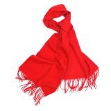 纯色羊羔绒围巾