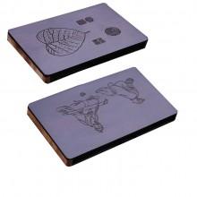 定制实用紫光檀木名片夹 商务会议活动精致礼品
