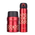 千福焖烧罐保温杯套装两件套 可定制logo
