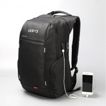 双肩包USB充电数据线笔记本电脑包