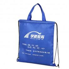 学桥教育定制便携双肩包  环保布袋 资料包手提袋帆布袋 可定制logo