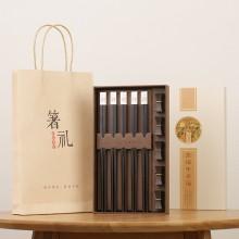 中国风实木质筷子
