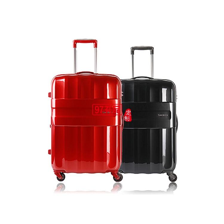 拉杆箱时尚扩展层旅行箱镜面设计行李箱