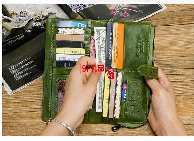 长款手拿包皮夹女士钱包