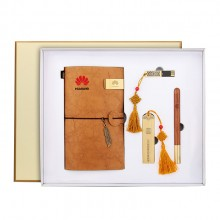 笔记本套装礼盒实用商务会议纪念品定制logo