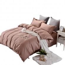 杉杉家纺长绒棉四件套纯棉亲肤被套礼品床上用品