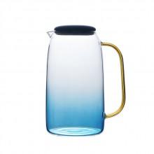 云石冷水壶加厚耐高温玻璃凉水壶水杯套装家用大容量果汁扎壶