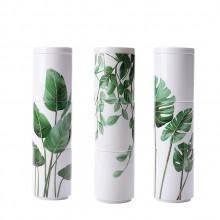 创意叠叠杯白瓷马克杯芭蕉叶清新简约日式陶瓷杯可定制LOGO