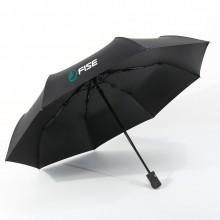 晴雨伞两用自动三折黑胶遮阳伞定制户外防紫外线折叠太阳防晒伞