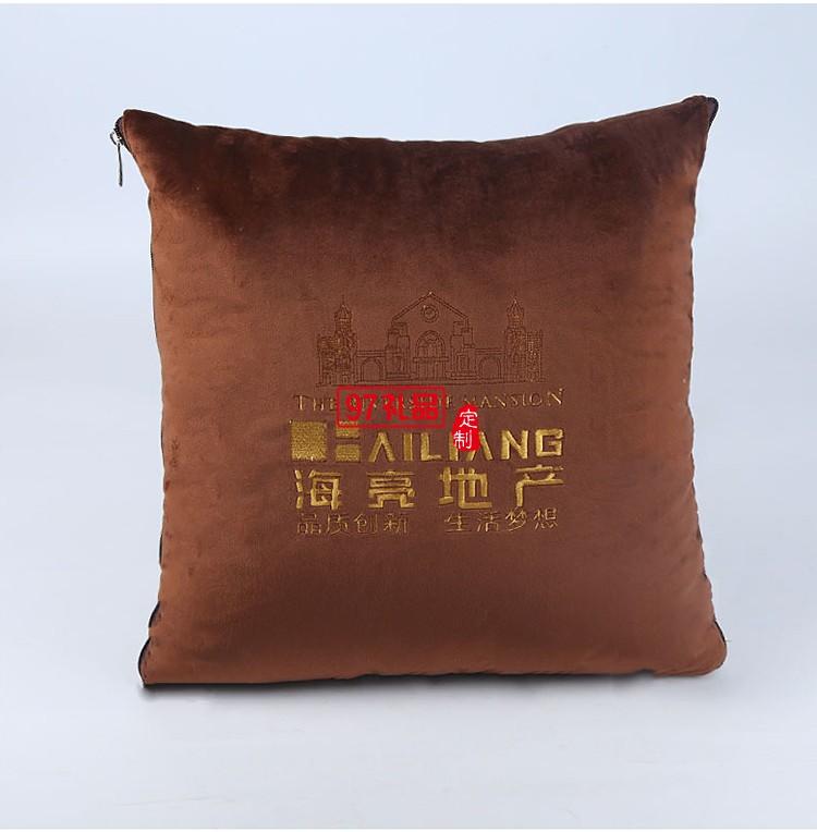 碧桂园房地产定制案例棉麻新款抱枕 靠枕