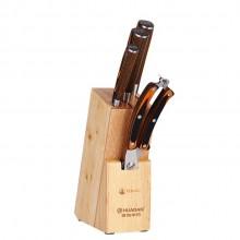 青岛华丹定制TOMIC/特美刻不锈钢切菜刀切肉刀水果刀厨房刀具五件套