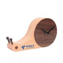 中国电信定制卡通蜗牛钟表