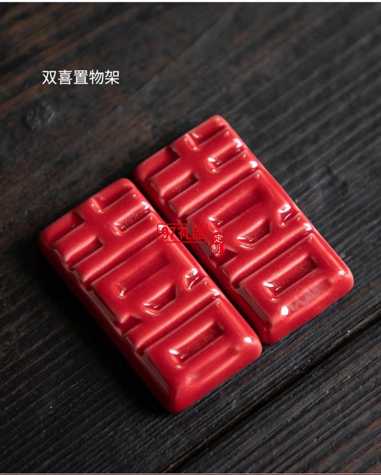 新年喜庆碗筷碗套装礼品可定制