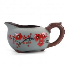 创意新品纯手绘釉下彩功夫茶具公道杯茶海盛茶器泡茶器茶杯茶碗