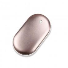 鹅卵石暖手宝移动电源暖手宝充电宝usb暖手 可定制LOGO