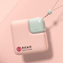 暖手宝移动电源带挂绳USB