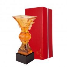 古法琉璃高档水晶琉璃奖杯