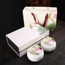 陶瓷茶叶罐礼盒套装