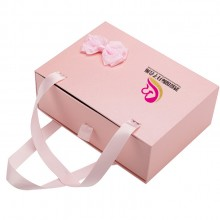 时尚礼物通用手提纸盒子