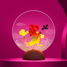 氛围灯专属企业定制中国风年会城市纪念春节贺年伴手礼