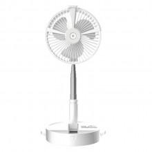 便携式折叠伸缩风扇 USB风扇 台灯抖音风扇 加湿补水喷雾风扇伸缩