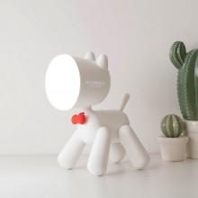 百变小狗LED台灯卡通充电创意USB小夜灯三挡调光桌面台灯