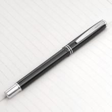 黑色商务金属中性笔广告笔签字