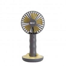 瑞贝宁定制 简约风扇USB可充电大风力小风扇手持便携小风扇