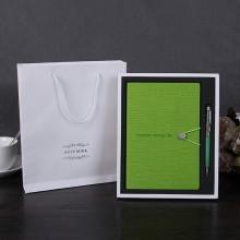 商务笔记本套装 办公用品笔记本礼盒装 送客户可定制加logo