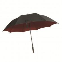 30寸纤维高尔夫伞 真双层自动超大抗风直杆伞 可定制logo