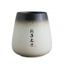 结婚礼物陶瓷杯情侣杯子 一对马克杯带盖勺定制diy刻字景德镇水杯
