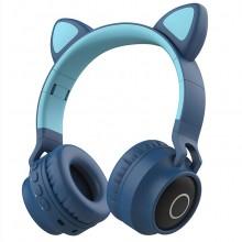 可爱猫耳朵耳机头戴式无线蓝牙耳机